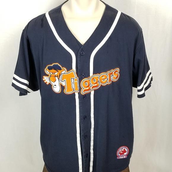 3acc3ee54 Disney Tops | Xl Tigger Team Baseball Jersey | Poshmark